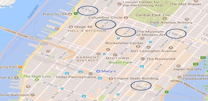 Manhattan adresleme sistemi